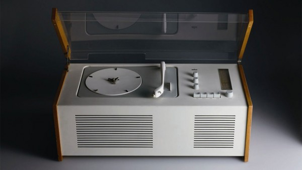 Dieter Rams SK4 record player, released by Braun in 1956