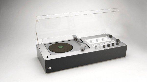 Audio 1 M stereo, designed by Dieter Rams in 1962