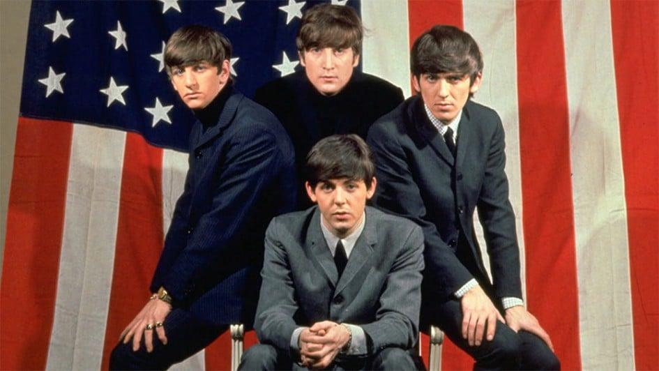 Promo image of The Beatles taken during the USA tour.