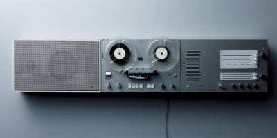 One of many audio systems that Dieter Rams designed for Braun in the 50's and 60's.