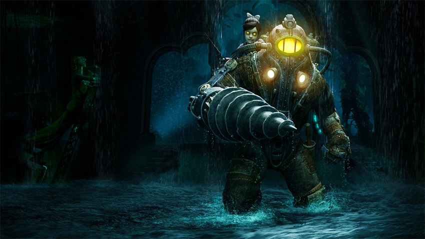 If this image doesn't make you shiver, you haven't played BioShock.