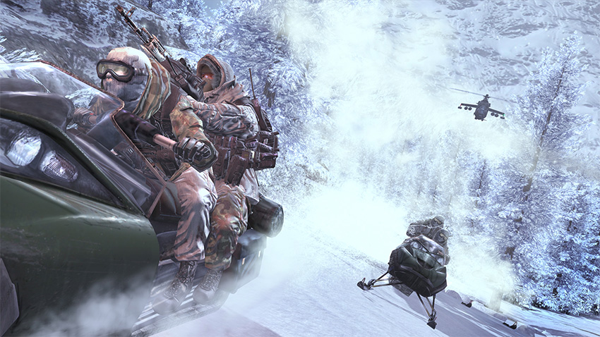 Multiplayer aside, there were some really cool moments in MW2:s single-player campaign.